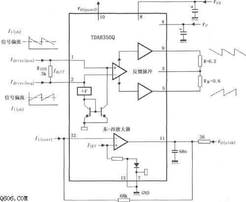 用tda8350q构成的测试电路图