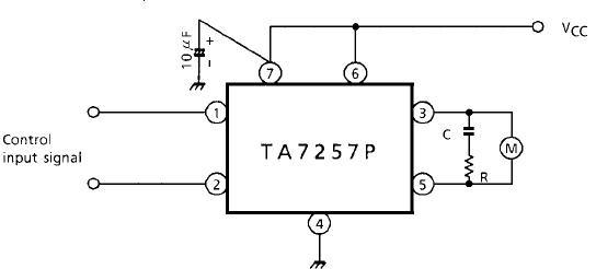 ta7257p直流电机驱动ic中文资料
