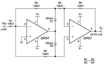 op07中文资料; op07中文资料-op07放大电路-引脚图