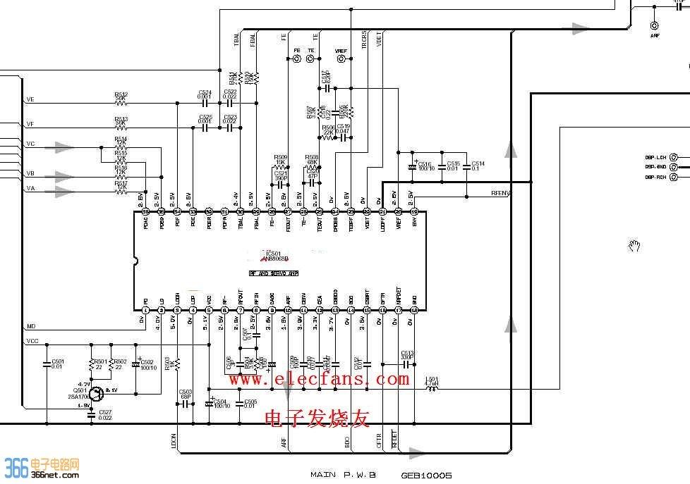 jvc汽车音响电子电路图