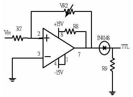 图17 磁滞电路比较器电路图