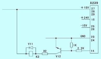 集成块n2的20脚输出电压稍微偏低