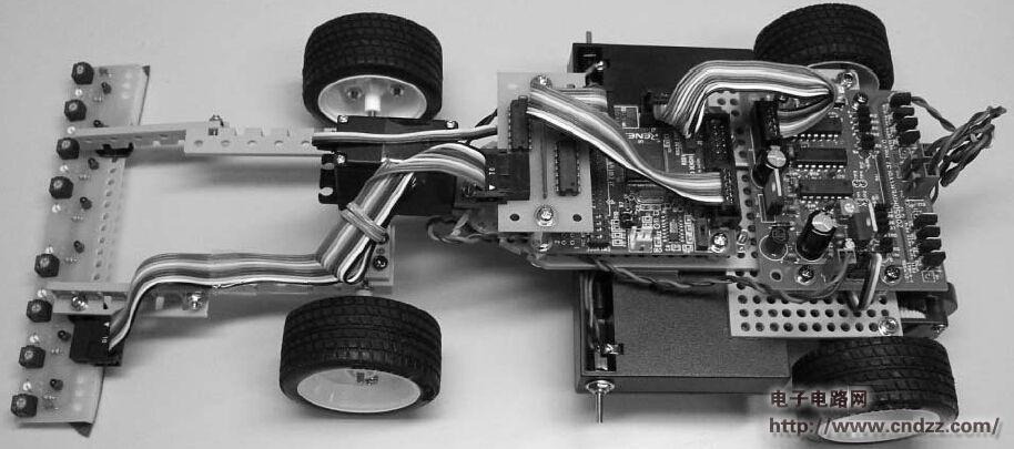 模型舵机测试仪接线图
